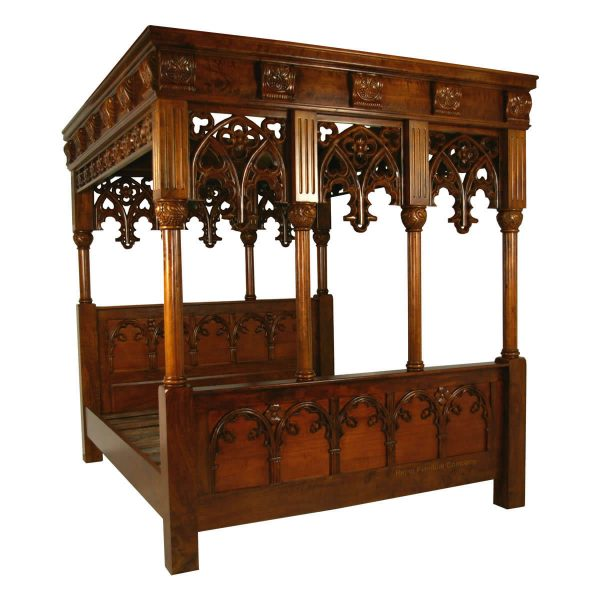 Gothic Four Poster Bed
