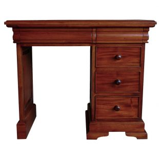 Sleigh Dressing Table Desk