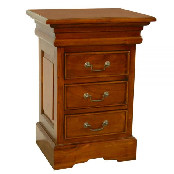 Sleigh Mahogany Bedside Chest
