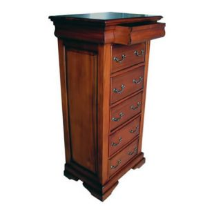 Sleigh Mahogany 6 Drawer Chest