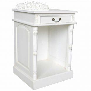 White hotel fridge cabinet