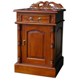 Victorian Mahogany Bedside Cupboard