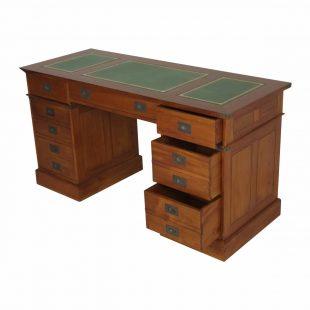 mahogany campaign desk
