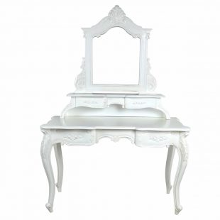 Versailles French White Dressing Table