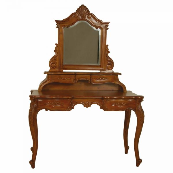 French Mahogany Dressing Table