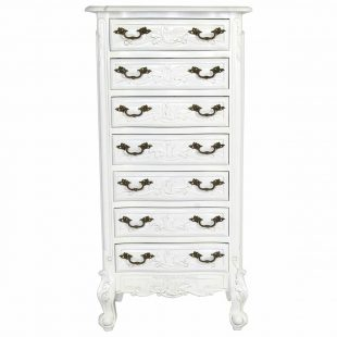 Versailles tallboy chest of drawers