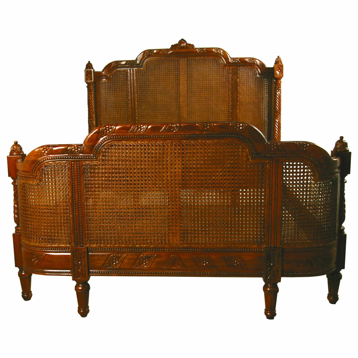 French Bergere Bed