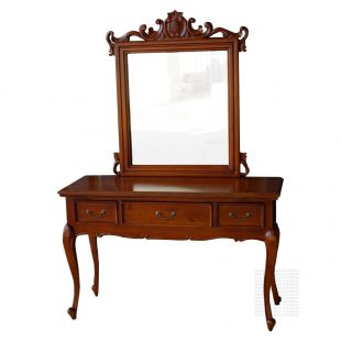 Mahogany Regence dressing table