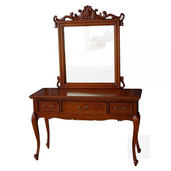 Mahogany Regence dressing table
