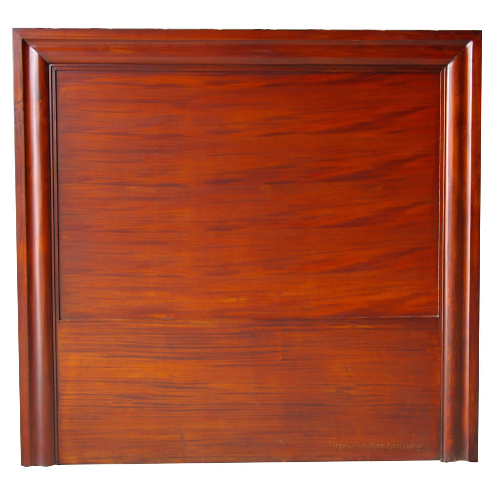 Mahogany headboard panel