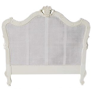 French Louis Rattan Headboard