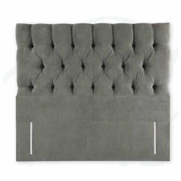 Floor standing upholstered headboard