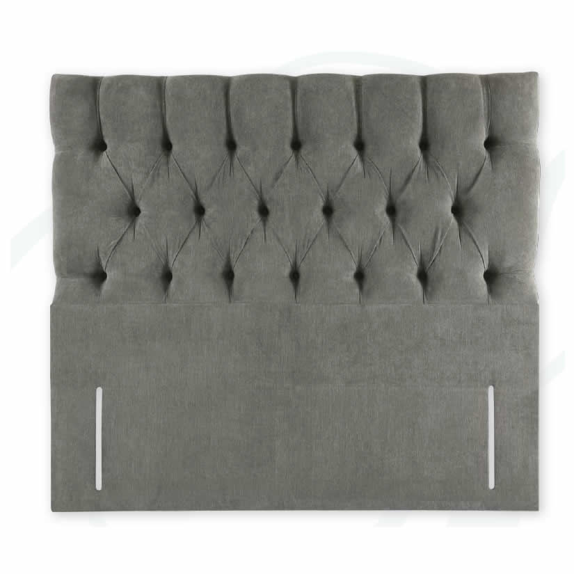 Floor standing upholstered headboard