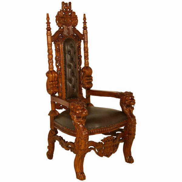 Gothic Throne Chair