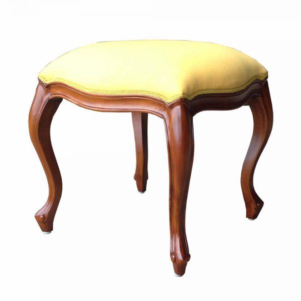 French mahogany stool