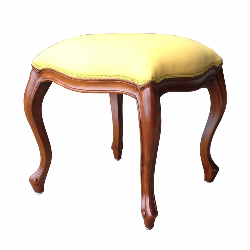 French mahogany stool
