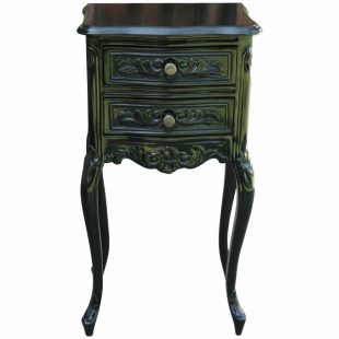 Black French Bedside