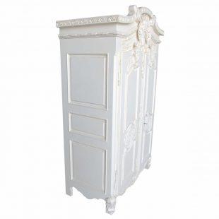 French White Armoire Wardrobe