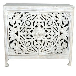 White Wash Bedroom Cupboard