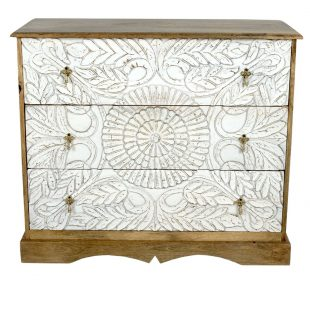 Mango chest of drawers