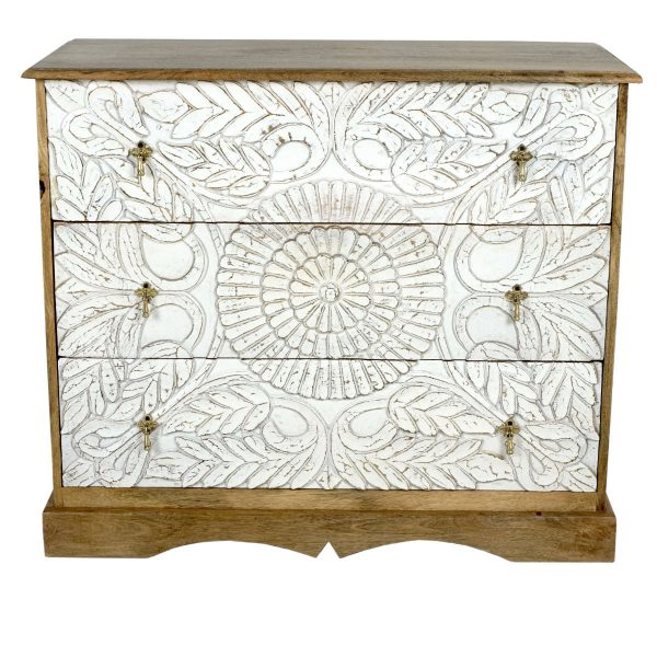 Mango chest of drawers
